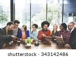 people meeting communication... | Shutterstock . vector #343142486