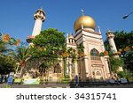 Sultan Mosque Of Singapore