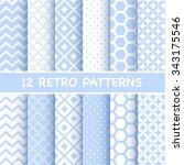Set Of Retro Patterns