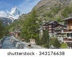 mountain matterhorn and resort...