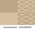 vintage seamless pattern   Shutterstock .eps vector #343180934