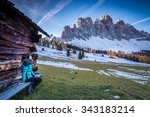 Small photo of Val di Funes, Trentino Alto Adige, Italy