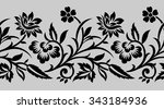 traditional indian motif | Shutterstock .eps vector #343184936