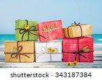 Gift Box From Nature And...