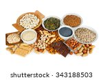 natural products containing... | Shutterstock . vector #343188503