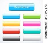 set of buttons | Shutterstock .eps vector #343197173