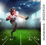american football. | Shutterstock . vector #343214114