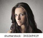 magnetic gaze | Shutterstock . vector #343269419
