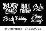 black friday and sale... | Shutterstock . vector #343269788