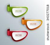 vector banners set. | Shutterstock .eps vector #343277018