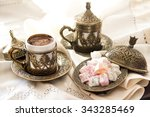 Turkish Coffee With Delight And ...