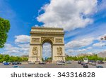 paris  france   june 1  2015 ... | Shutterstock . vector #343316828