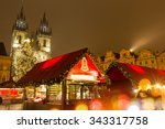 The Old Town Square In Prague...