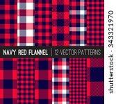 lumberjack flannel plaid vector ... | Shutterstock .eps vector #343321970