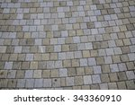 Stone Slabs Sidewalks