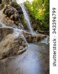 bua tong wallterfall in chiang... | Shutterstock . vector #343396799