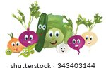 illustration collection of... | Shutterstock .eps vector #343403144