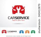 car service logo template... | Shutterstock .eps vector #343412870