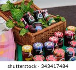 Traditional Fruit Jam Jars A...