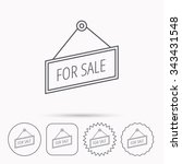 for sale icon. advertising...   Shutterstock .eps vector #343431548