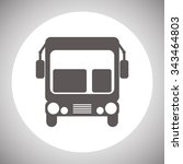 bus. icon. vector design | Shutterstock .eps vector #343464803