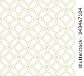 seamless geometric pattern.... | Shutterstock .eps vector #343467104