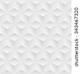 white geometric pattern. vector ... | Shutterstock .eps vector #343467320