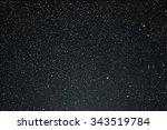 vector background. starry dark... | Shutterstock .eps vector #343519784