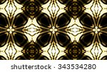 decorative glassy background | Shutterstock . vector #343534280