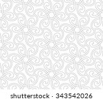 seamless pattern with... | Shutterstock .eps vector #343542026