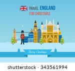 london  united kingdom  big ben ... | Shutterstock . vector #343561994