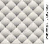 vector seamless black and white ... | Shutterstock .eps vector #343597850