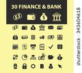 finance  bank  credit  savings  ... | Shutterstock .eps vector #343604618