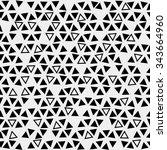 pattern geometric  background...   Shutterstock .eps vector #343664960