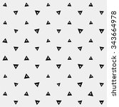 pattern geometric  background... | Shutterstock .eps vector #343664978