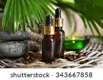 essential oil for aromatherapy  ... | Shutterstock . vector #343667858
