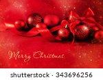 christmas background | Shutterstock . vector #343696256