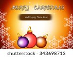 horizontal yellow digital... | Shutterstock . vector #343698713