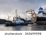 port of amsterdam  noord...   Shutterstock . vector #343699598