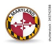 maryland seal | Shutterstock .eps vector #343742588