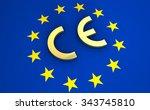 european union and eu community ... | Shutterstock . vector #343745810