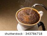 is brewed coffee | Shutterstock . vector #343786718