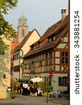 dinkelsbuhl  germany   august... | Shutterstock . vector #343881254