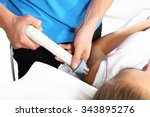 cold therapy  rehabilitation... | Shutterstock . vector #343895276