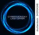 sale technology banner for... | Shutterstock .eps vector #343904348
