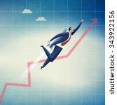 growth. concept business... | Shutterstock . vector #343922156