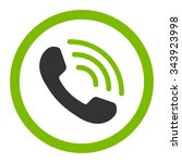 Phone Call Vector Icon. Style...