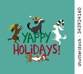 Yappy Holidays Cute Dogs...