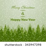 winter background | Shutterstock .eps vector #343947398