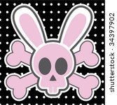 Rabbit Skull Design